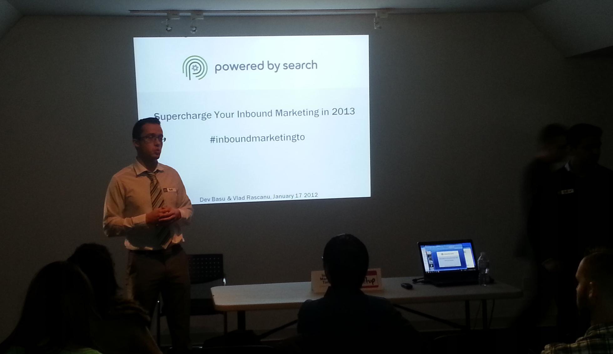 Inbound Marketing Toronto meetup photo 2