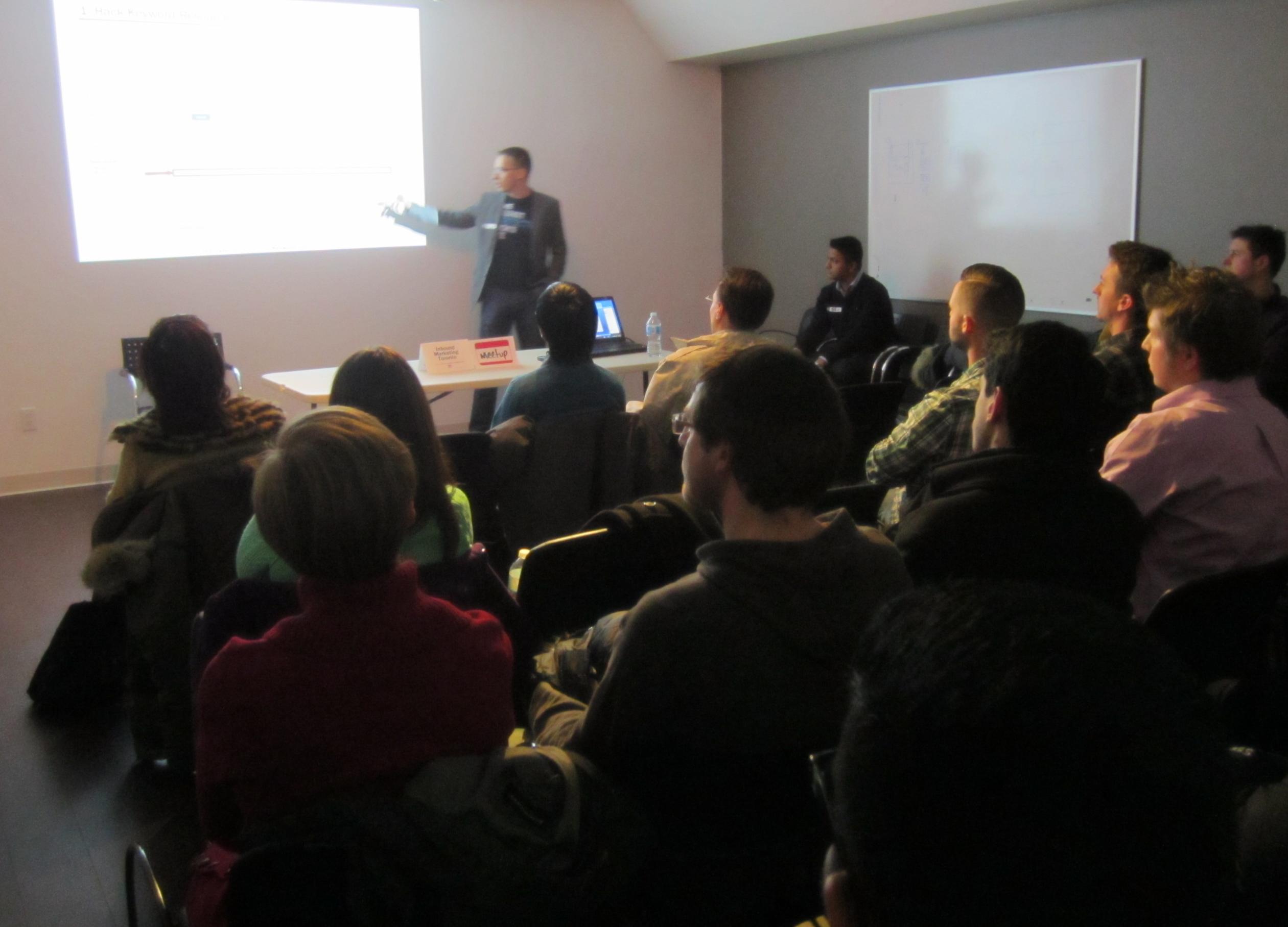 Inbound Marketing Toronto meetup photo 3