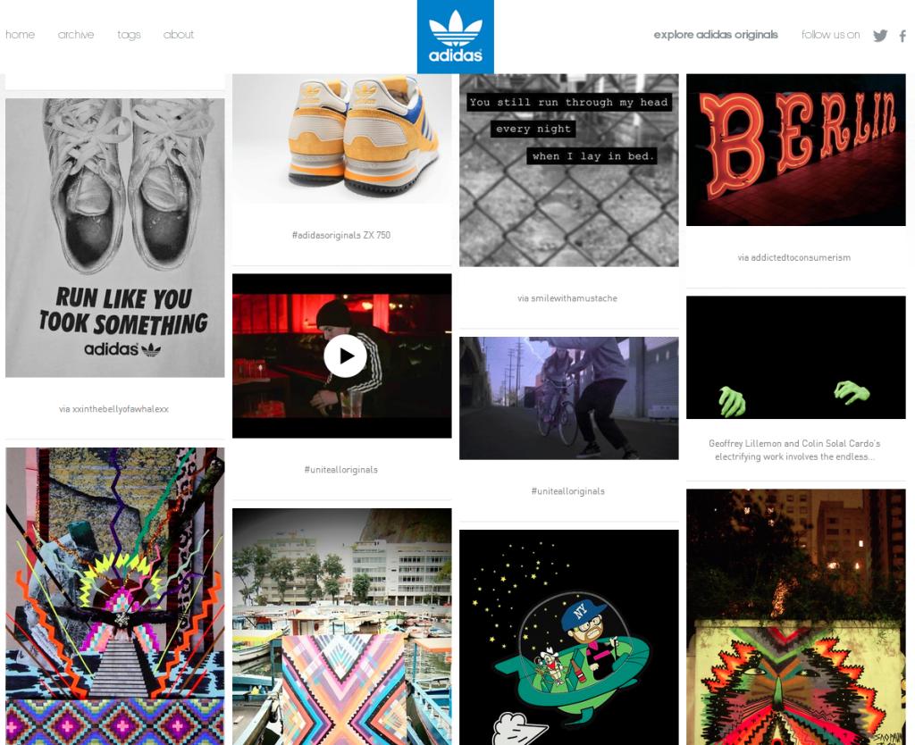 Adidas Tumblr