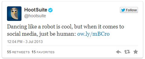 Don't Be a Robot
