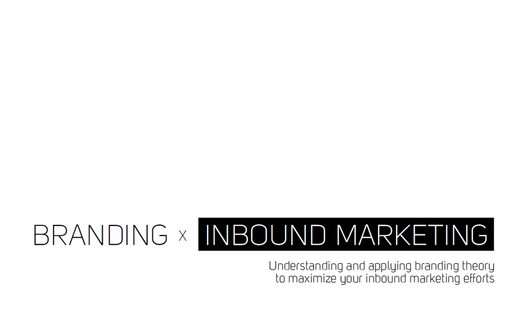 Branding x Inbound Marketing by Khalid Mokhtarzada