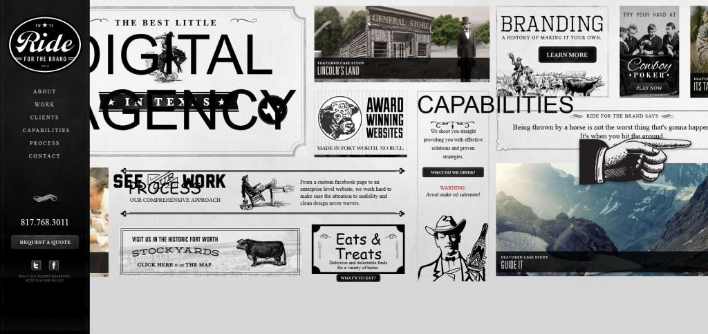 interactive elements web design