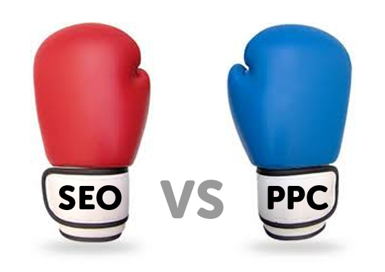 SEO vs PPC - the two complement each other