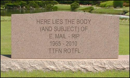 is email dead as a marketing tool?