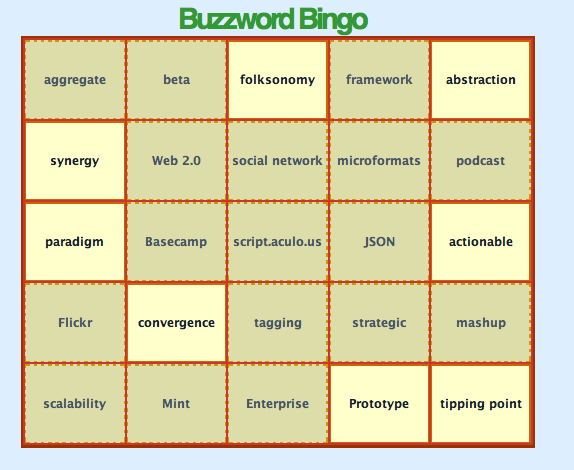 buzzword flingers don't make good inbound marketing agencies