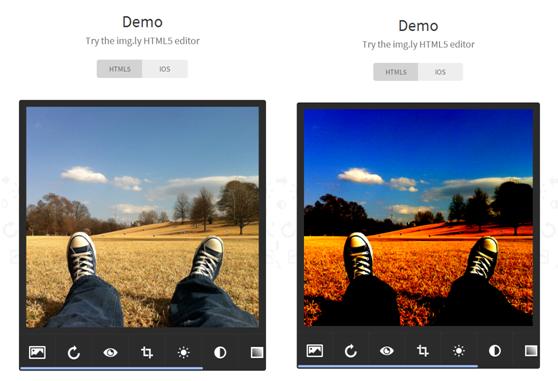 Landing page elements - Demo
