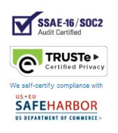 Landing page elements - Security seals