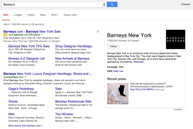 SERPS Example 2