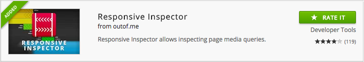 Responsive Inspector chrome extension