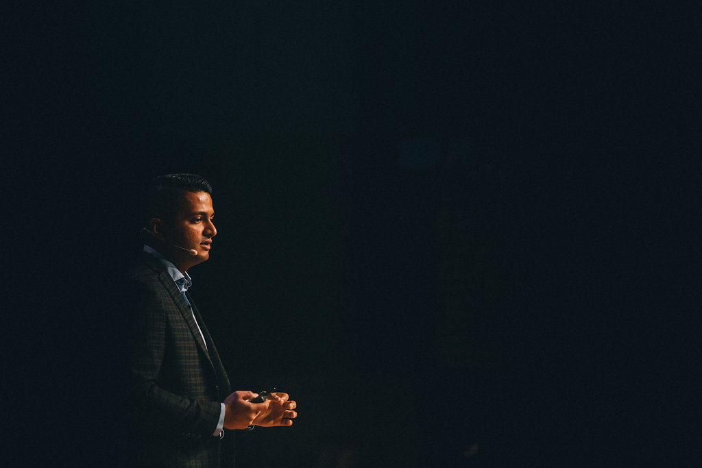dev basu at inboundcon 2016