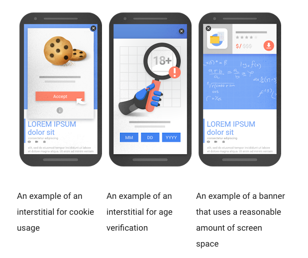 Google's Mobile Interstitials Penalty