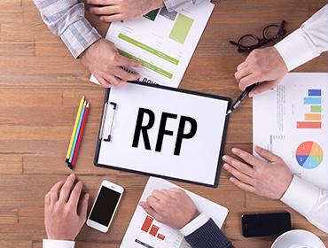 digital marketing rfp template builder