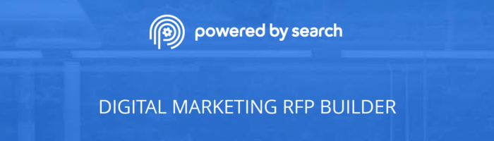 how to write a digital marketing rfp that gets you the right agency partner powered by search