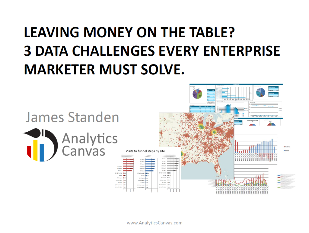 3 data challenges every enterprise marketer must solve