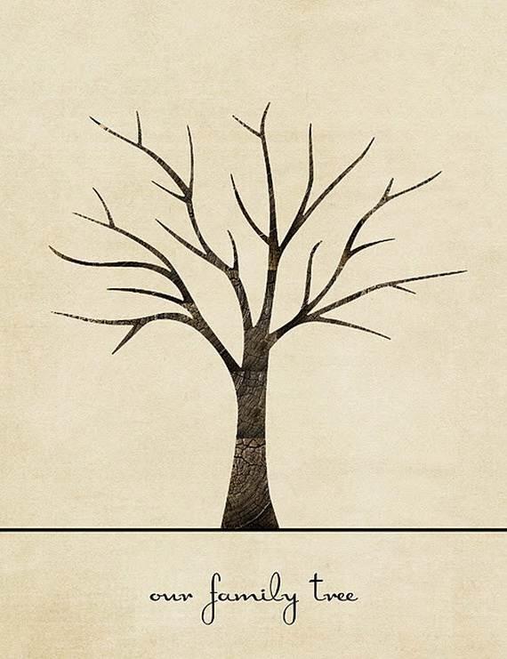 Family Tree craft Template Ideas 09