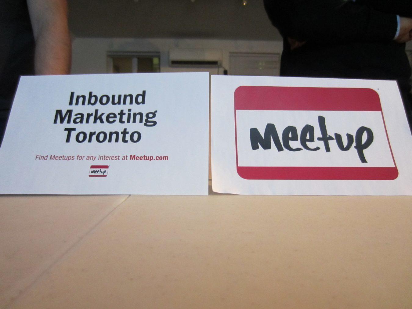 Inbound Marketing Toronto meetup photo 1