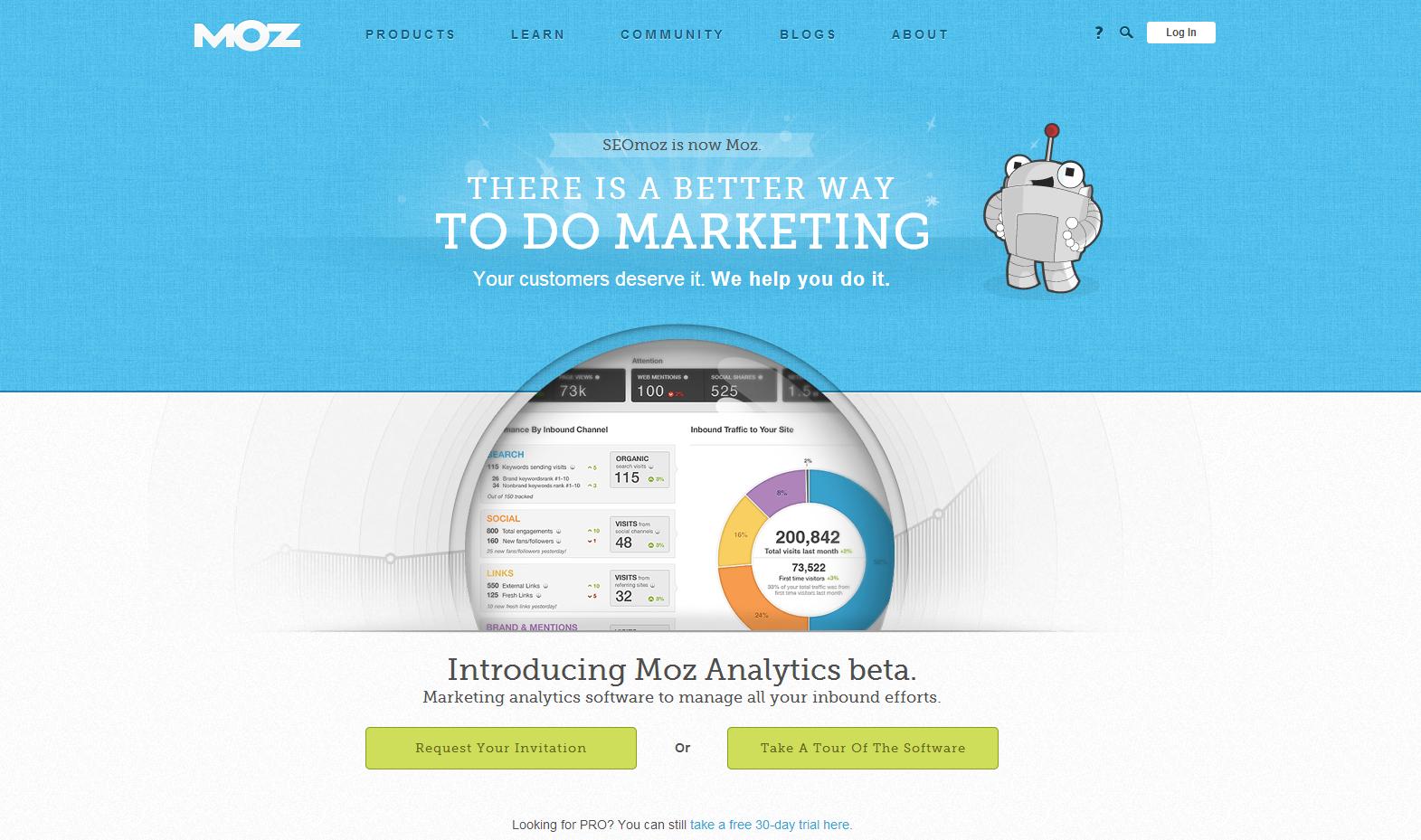 Moz Website Design