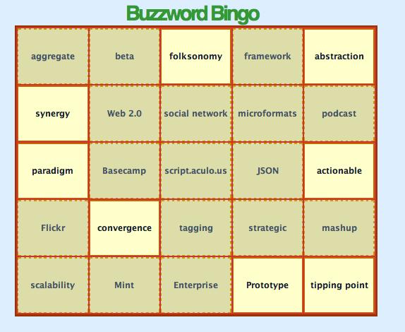 buzzword flingers don't make good inbound marketing agencies