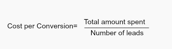 cost-per-conversion-formula