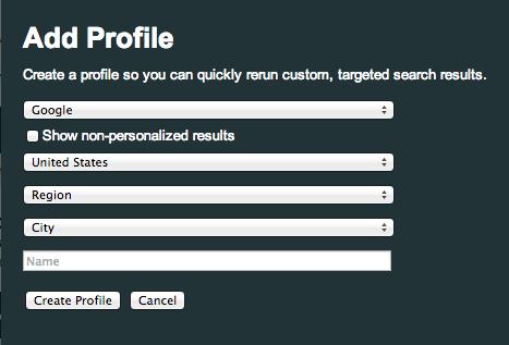 mozbar v3 search profiles