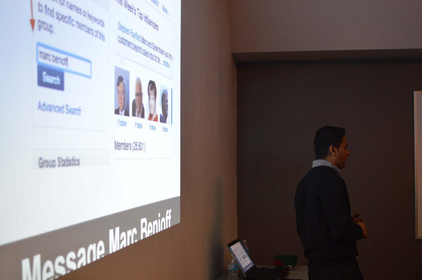 Dev Basu presentation, Inbound Marketing Toronto meetup