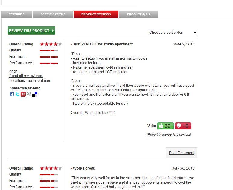 user reviews provide social proof