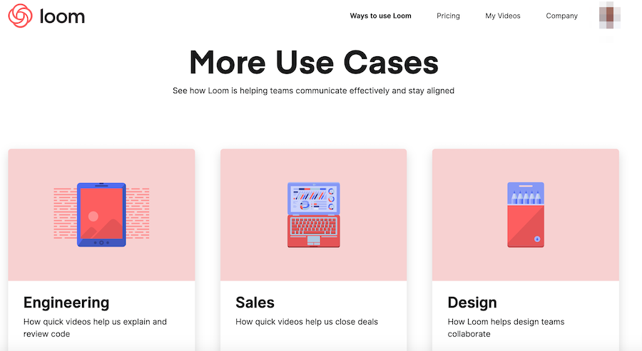 More Use Cases: 3 options