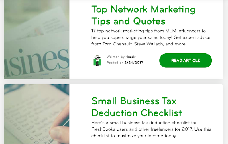 Hurdlr's blog: Top Networking Marketing Tips and Quotes + Small Business Tax Deduction Checklist