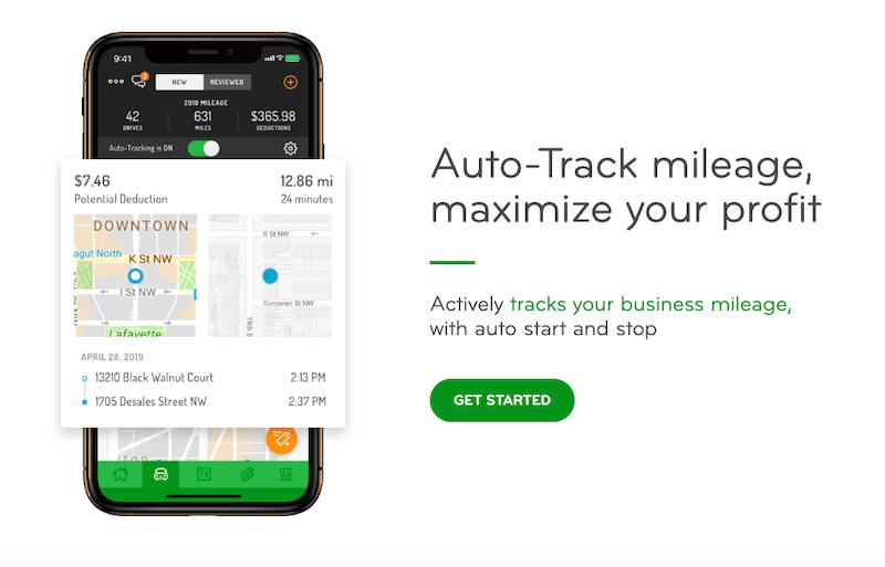 Hurdlr: Auto-Track mileage, maximize your profit.