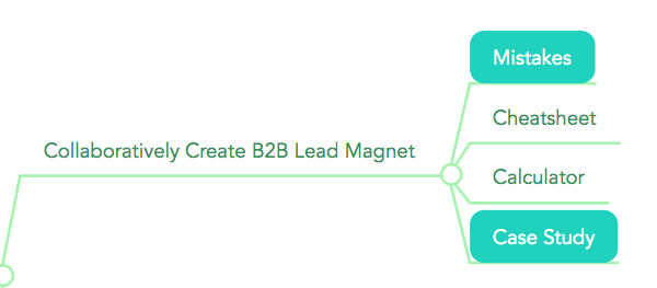 Collaboratively Create B2B Lead Magnet: Mistakes, Cheatsheet, Calculator, Case Study (Lead magnet types that work best with B2B LinkedIn Ads)