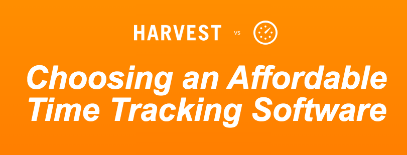 Harvest vs. Everhour Competitor Comparison Landing Page