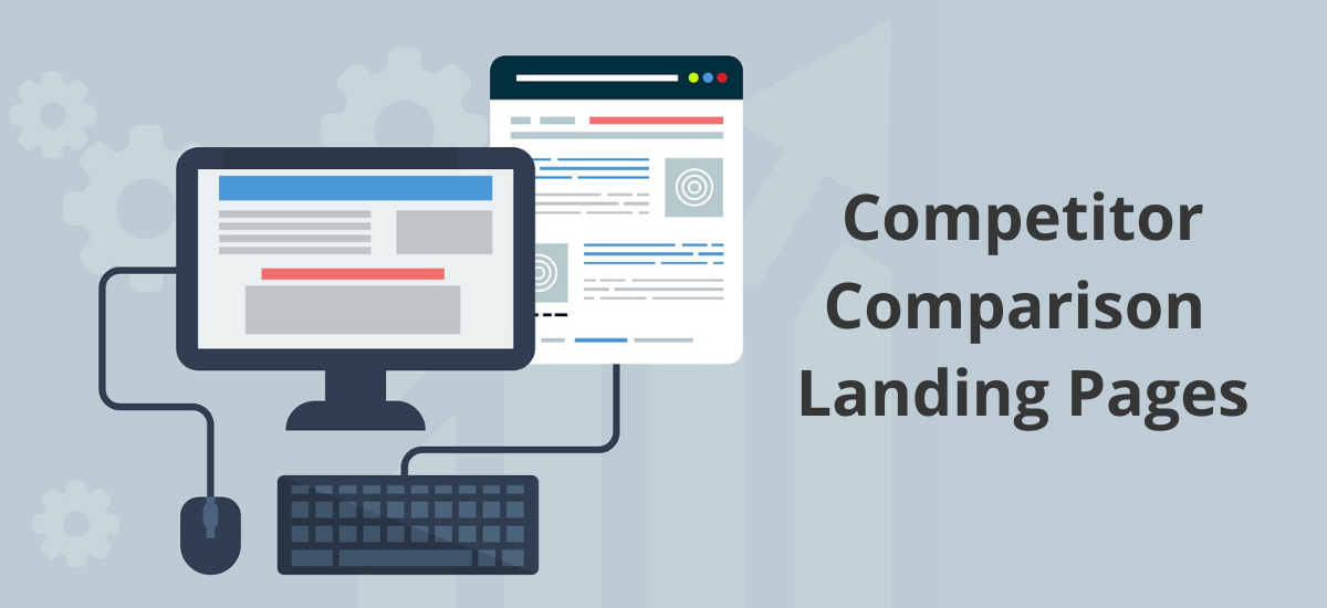 competitor comparison landing pages for saas