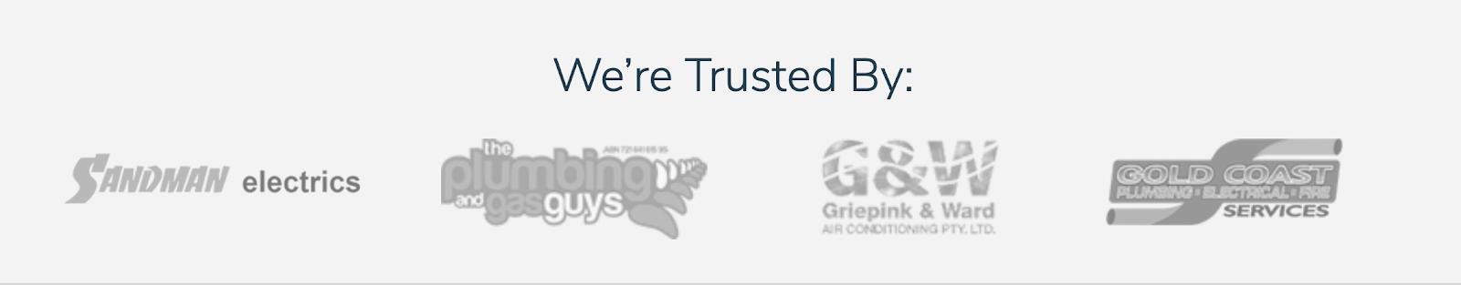 Content refresh tactic of adding trust builders