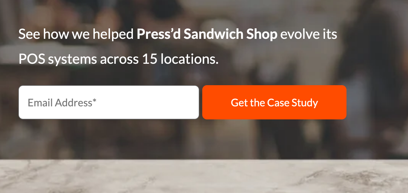 See how we helped Press'd Sandwich Shop evolve its POS systems across 15 locations.
