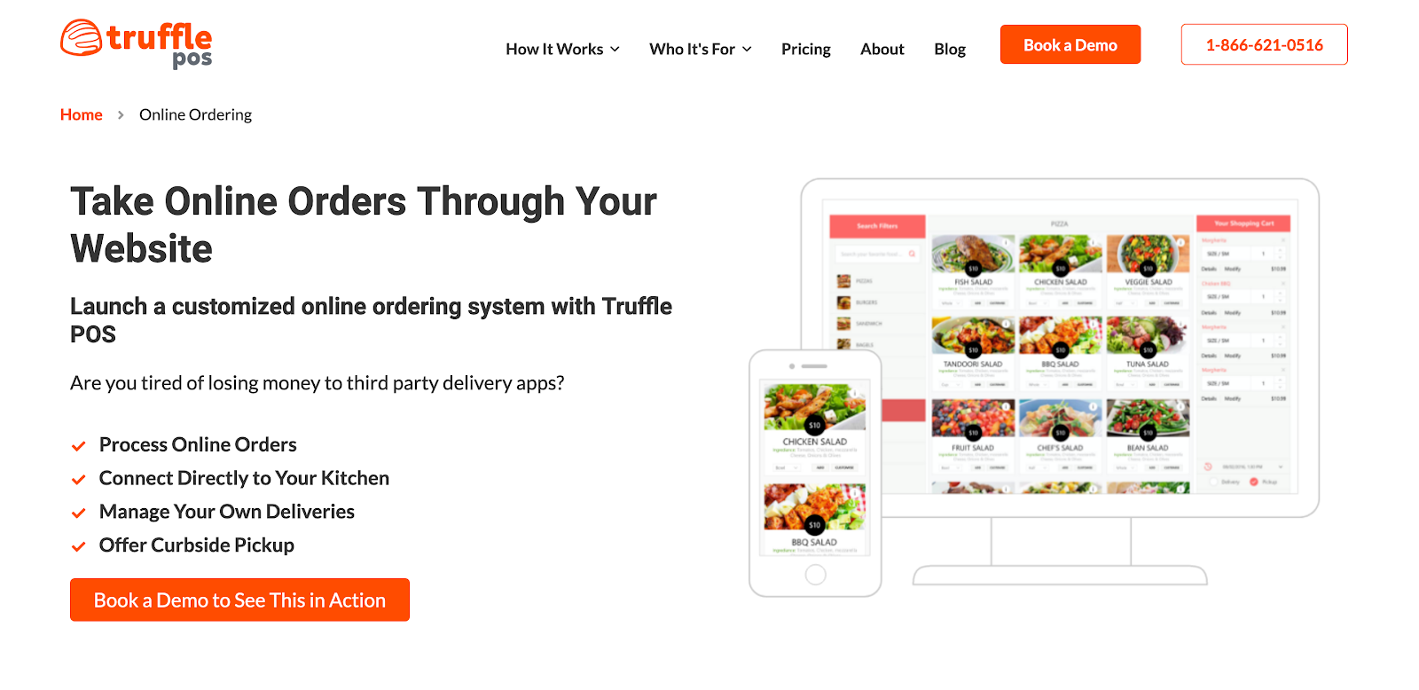 Truffle POS: Take Online Orders Through Your Website
