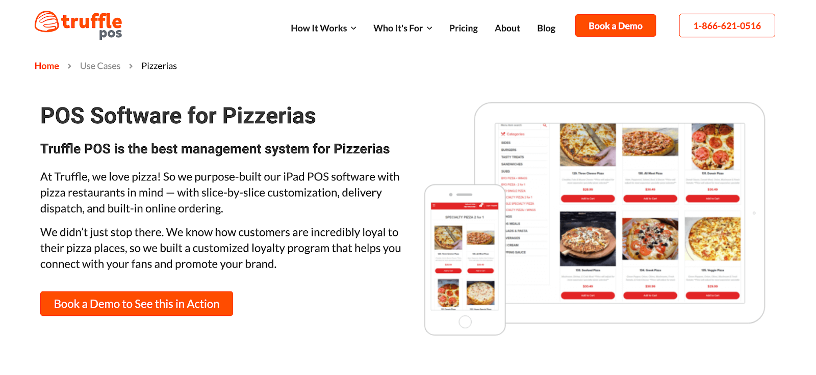 POS Software for Pizzerias