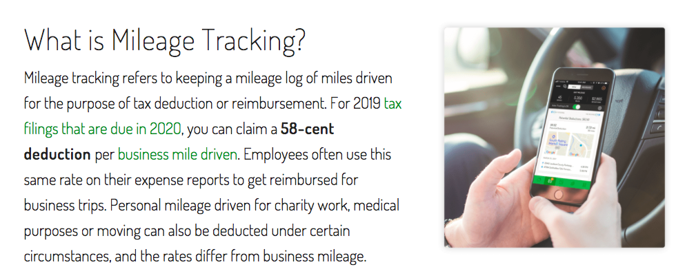 """What is Mileage Tracking?"" briefly explained."