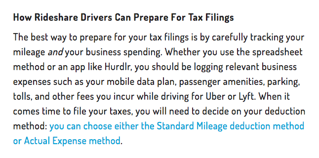 How Rideshare Drivers Can Prepare for Tax Filings