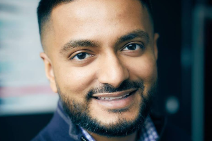 Headshot of Dev Basu, Founder of Powered by Search